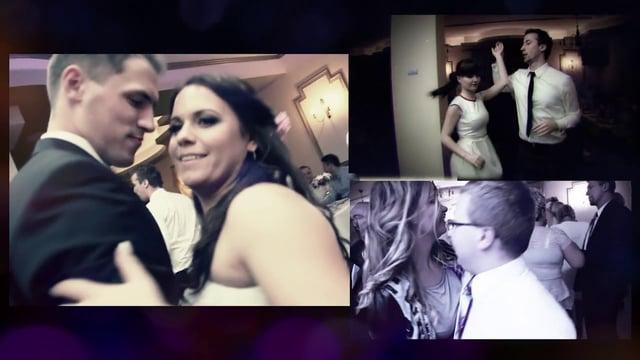 Teledysk weselny – Monika & Konrad – Dworek Różany Namysłów – grał zespół BravoMusic.pl