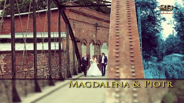 Trailer – Teledysk weselny – Magdalena i Piotr – Brzeg sierpień 2014