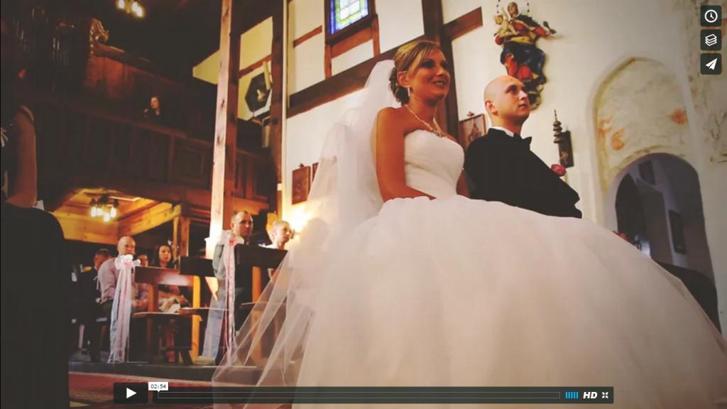 Teledysk z wesela Monika & Marek