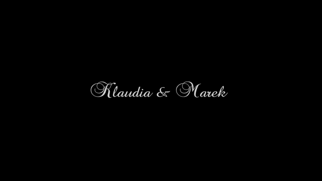 Teledysk weselny Klaudia & Marek – czerwiec 2016