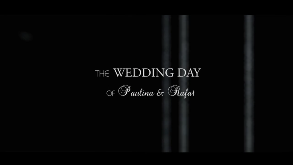 Trailer Filmu z Wesela Paulina i Rafał – 2016