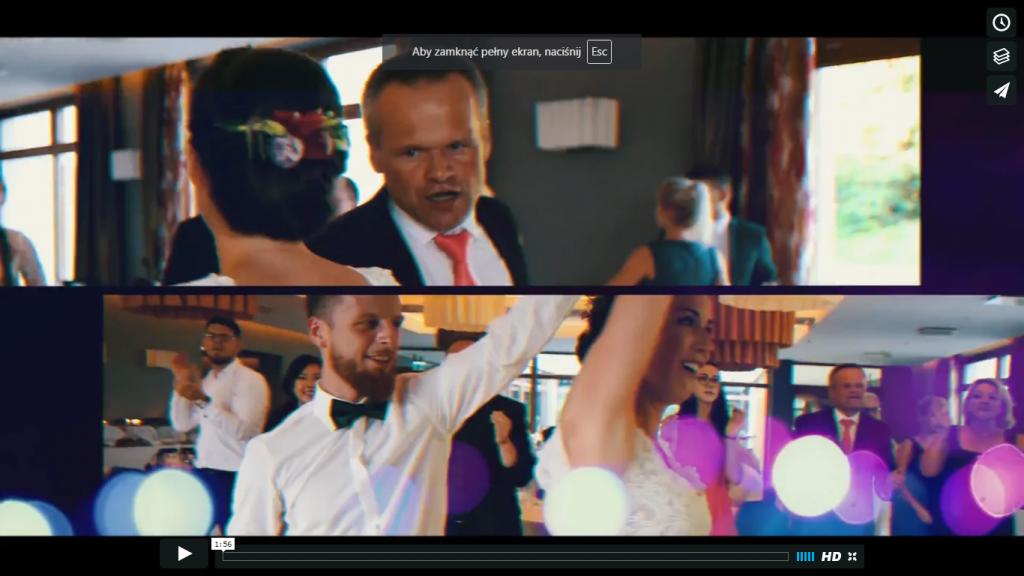 Magdalena & Michał – wedding clip – lipiec 2016