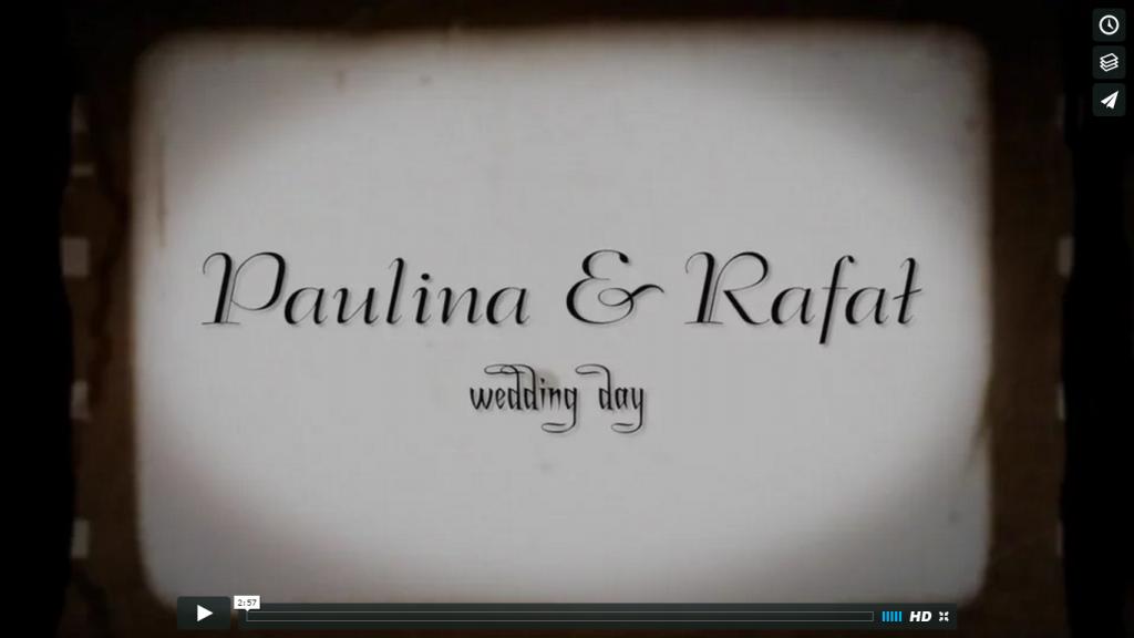TELEDYSK z wesela Paulina & Rafał – 2016