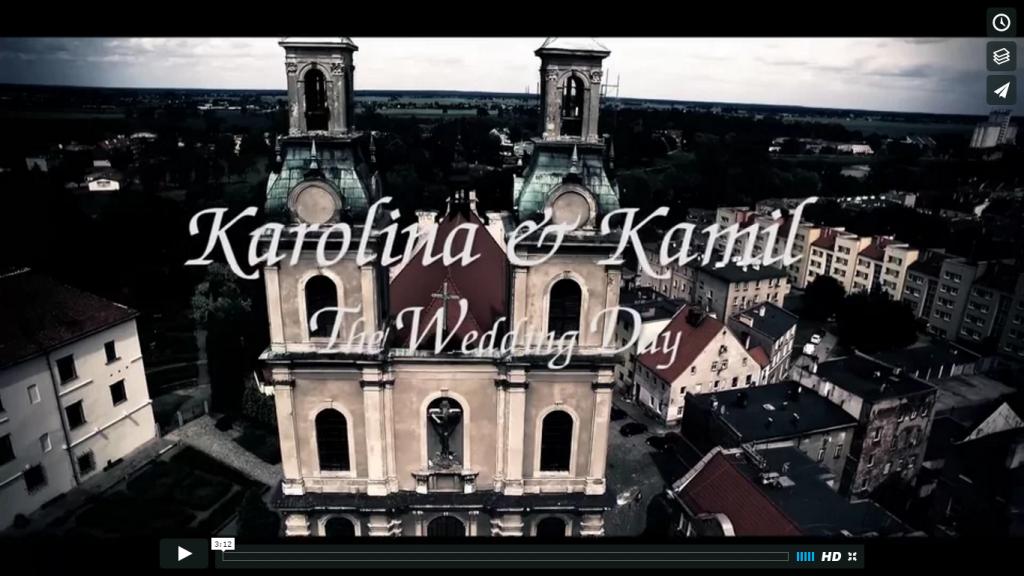 Teledysk – Karolina i Kamil – sierpień 2016