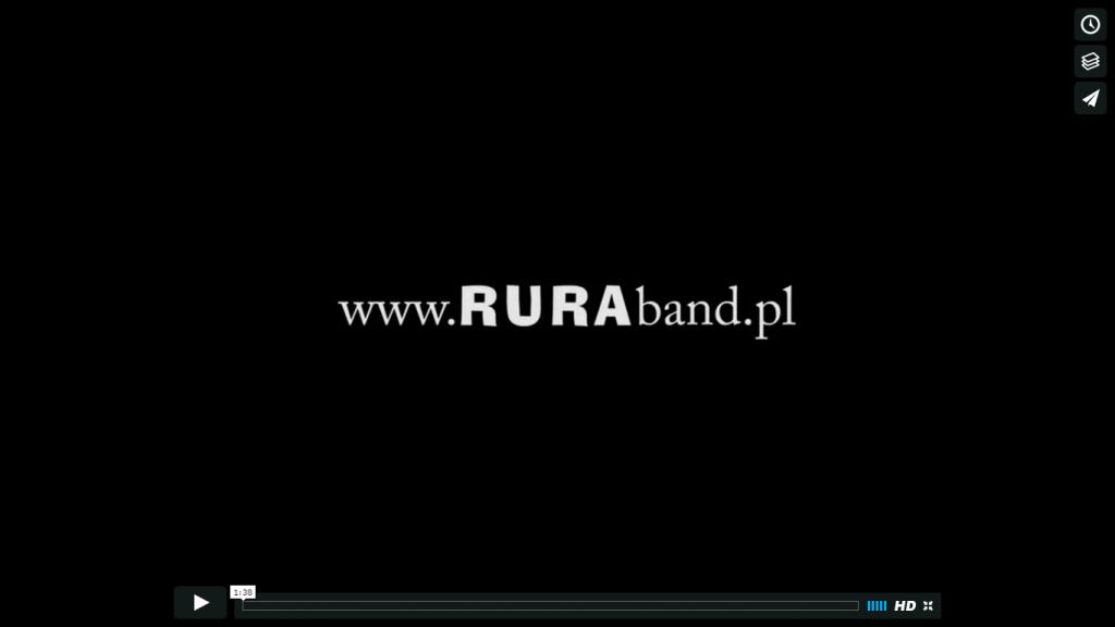 Zespół muzyczny RURA – prezentacja – zajawka
