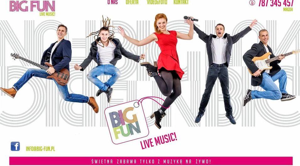 Zespół BIG-FUN – demo z wesela – październik 2016