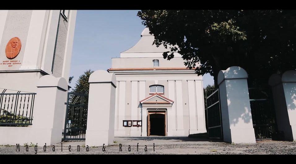 Teledysk z wesela Magdalena & Rafał – 9 września 2017